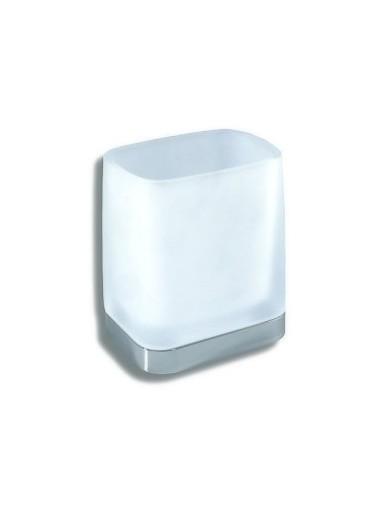 6406-5 Ποτηροθήκη Τοίχου Λευκή